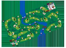 Golf fore fun map